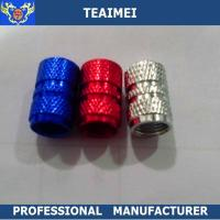 Wholesale CE Original Blue Aluminium Car Tyre Valve Caps without logo OEM from china suppliers
