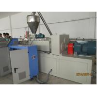 Wholesale Polyolefin Wood Plastic Extrusion Line , PVC Window Door Profile Manufacturing Machine from china suppliers