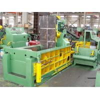 Wholesale Forward-out Hydraulic Baling Press , Recycling Scrap Metal Baler Y81F - 125H from china suppliers