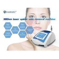 Buy cheap Professional manufacturer 980 nm laser diode machine for skin tags / vascular veins removal from wholesalers