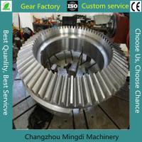 Wholesale Alloy Steel Bevel Gears Industrial Spur Gears CNC Milling Straight from china suppliers
