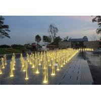 Wholesale Lighting Outdoor / Indoor Floor Fountains Waterfalls With Music Control from china suppliers