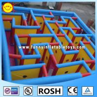 Wholesale PVC Inflatable Sports Games Protable Inflatable Maze Quadruple Stitching from china suppliers
