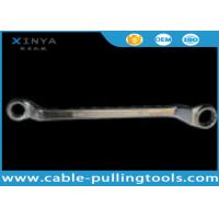 Wholesale Alloy steel Carbon Steel Double Offset Ring Spanner Wrench to tighten the bolt from china suppliers
