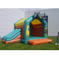 Wholesale Elephant Inflatable Combo Jungle Bouncy Castle Slide Hire For Play Park from china suppliers