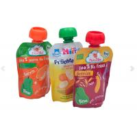 Wholesale Durable And Leakage-proof Customize Printed Spout Pouch Doypacks With Nozzle for Fruit Juice and Any Liquid substance from china suppliers