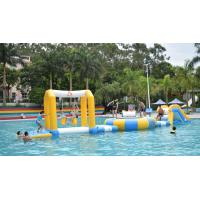 Wholesale 0.9mm PVC Tarpaulin Fabric Inflatable Water Park For 18m*6m Pool from china suppliers