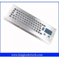 Wholesale IP65 Rugged Mini Industrial Desktop Keyboard Metal With Touchpad from china suppliers