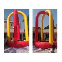 Wholesale Custom Printed Soft Inflatable Bungee Trampoline For Playground from china suppliers