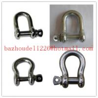 Wholesale D-Shackle shackle& Bow Shackle,Safety Anchor Shackle from china suppliers