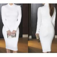 Wholesale Fashion Long Sleeve Bandage Dress Slim Sexy Skirt in Winter from china suppliers
