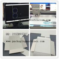 Wholesale chipboard box making half cutting full cutting sample maker machine from china suppliers