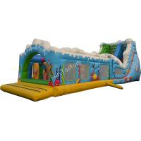 Wholesale EN14960 Ocean World Large Inflatable Obstacle Course For Mall from china suppliers