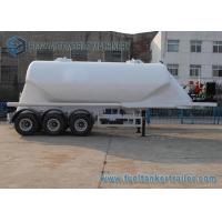 Wholesale 38000 L Conoid Dry Bulk Three Axle Trailers UWA / BPW Air Suspension from china suppliers
