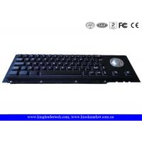 Wholesale Custom Dust-Proof Black Metal Keyboard 63 Keys With Panel Mount from china suppliers