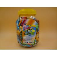 Wholesale Orange / Watermelon / Mint Bubble Gum Funny Chewing Gum Assorted Fruity Flavor from china suppliers