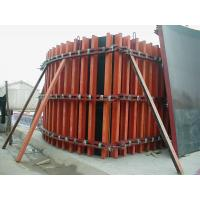 Economic ,Simple Timber Beam Formwork for Curve Concrete Wall Formwork