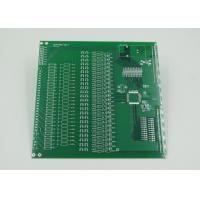 Quality Silver Plated Controlled Impedance PCB with 2mil Trace Green Soldermask for sale