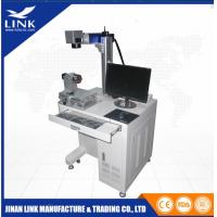 Wholesale High Precision CNC Desktop YAG Laser Marking Machine , Automatic Fiber Laser Marker from china suppliers