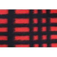 Wholesale Modern Plaid Style Check Wool Fabric For Blanket 590G / M Weight from china suppliers