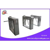 Quality Automatic 304 stainless steel pedestrian security gates With Swallow Coin Machine for sale