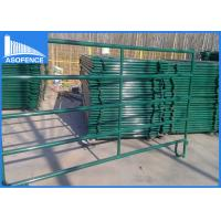 Wholesale 30*60 Rail Cattle Corral Panels Fence For Round Pen Equipement , Easy Install from china suppliers
