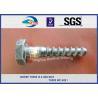 Buy cheap Hot Deep Galvanized Railway Sleeper Screws HEX Head Screw Spike from wholesalers