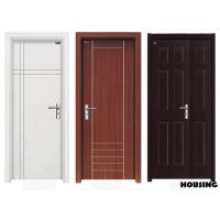 Wholesale Luxury And Nature Wood PVC Doors With White / Black / Coffee Color from china suppliers