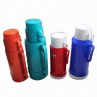 Wholesale Plastic Watter Bottles/Vacuum, Keeps Liquids Hot/Cool Hours, with Plastic Body, Glass-line  from china suppliers