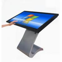 Quality 43 Inch FHD Interactive Touch Screen Table , Metal Frame Advertising Digital Signage for sale