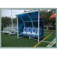 Wholesale Stadium Mobile Football Field Equipment Soccer Player Team Bench Seats With Shade from china suppliers