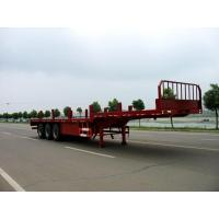 Wholesale CLWChu wins and 13 m 24.2 tons axle flatbed trailer CSC9300TP 30086-18672730321 from china suppliers