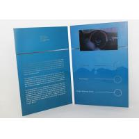 Wholesale Electronic magnetic button lcd video mailer for education / graduations , A4 / A5 size from china suppliers