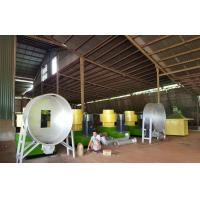 Quality Cow dung fertilizer pellets production line with 1-5T/H capacity for sale