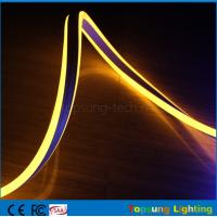 Wholesale yellow color mini size neon led christmas lights 8.5*18mm double-sided neon flex lights from china suppliers