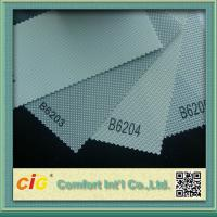 Wholesale 30% Polyester 70% PVC Blackout Sunscreen Modern Curtain Fabric Solarscreen from china suppliers