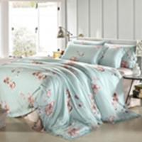 Wholesale Customized Pieces Home Bedroom Bedding Sets , Flower Printed Bedding Sets from china suppliers