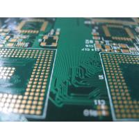 Wholesale Light green color FR4 with Tg 150 12 Layer immersion gold board PCB 0.075um Service from china suppliers