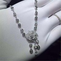 Wholesale Piaget Rose diamond  Necklace 18k gold  white gold yellow gold rose gold diamond Necklace from china suppliers
