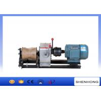 Wholesale Electric Engine Cable Powered Pulling Winch By Shafted Driven 10KN from china suppliers