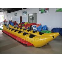 Wholesale PVC Tarpaulin Kids Inflatable Banana Boat / Double Tube Water Banana Boat from china suppliers