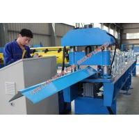 Wholesale Corrugated Metal Roofing Ridge Cap Roll Forming Machinery 5.5KW from china suppliers