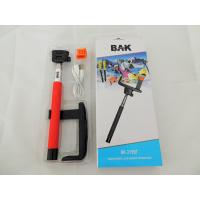 Wholesale Soft Hand Position selfie stick with bluetooth Button , Color Can Be Customized from china suppliers