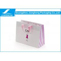 Wholesale Matt Effect Logo Printed Paper Shopping Bags Paper Gift Bags With Handles from china suppliers