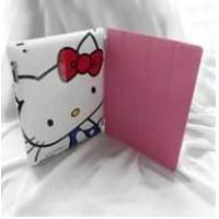 Wholesale Hello kitty cartoon Fashion protective back case with smart cover for ipad 2  from china suppliers