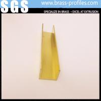 Wholesale Copper Extruding U - Profiles / Brass U Sheet / Alloy U Plate from china suppliers