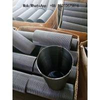 Wholesale Stainless Steel 304 Dutch Weave Wire Mesh Braided Sleeves,12x64 mesh with 1mm Thickness from china suppliers