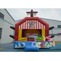 Wholesale Red Giant Bouncy Castles For Toddlers / Fun Sports Combo Bounce House from china suppliers