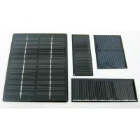 Wholesale Portable 3V 225mA Mono Crystal Solar Panels For Solar Toys MCS / CHUBB from china suppliers