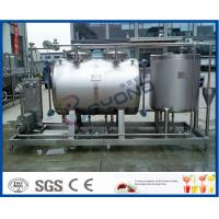 Wholesale 10tph Split Type Semi Auto CIP Cleaning System With SUS304 SS316 Material from china suppliers